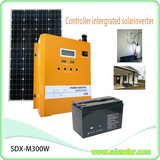 300W controller intergrated solar inverter