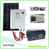 500W controller intergrated solar inverter