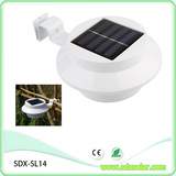 round solar sink light