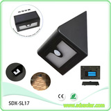 50pcs triangular solar sensor light