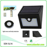 28pcs triangular solar sensor light